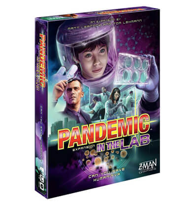 Pandemic In the Lab Bordspel Productfoto