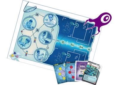 Pandemic In the Lab Bordspel Speelbord en Kaarten