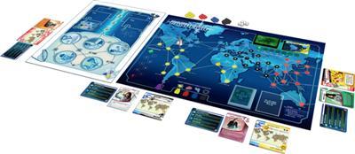 Pandemic In the Lab Bordspel Speelbord