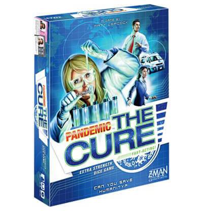 Pandemic The Cure Bordspel Productfoto