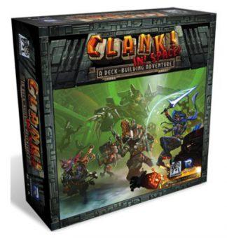 Clank in Space Bordspel Productfoto