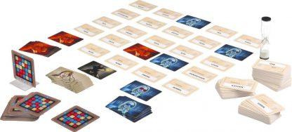 Codenames bordspel spelonderdelen