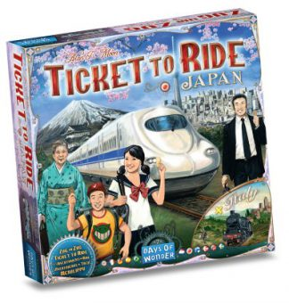 Ticket to Ride Japan & Italie bordspel productfoto