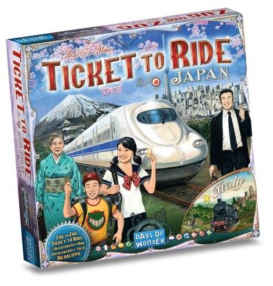 Ticket to Ride Japan & Italie bordspel productfoto