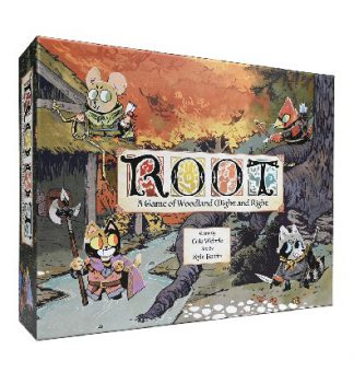 Root A Game of Woodland Might & Right bordspel productfoto