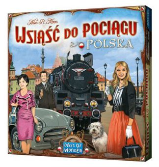 Ticket to Ride Polska bordspel productfoto