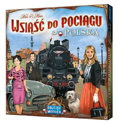 Ticket to Ride Polska bordspel productfoto
