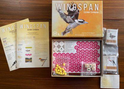 Wingspan Oceania Bordspel Inhoud