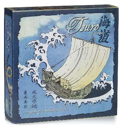 Tsuro of the Seas Bordspel Productfoto