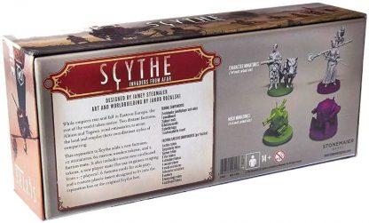 Scythe Invaders from Afar Bordspel achterkant