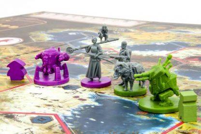 Scythe Invaders from Afar Bordspel figuren