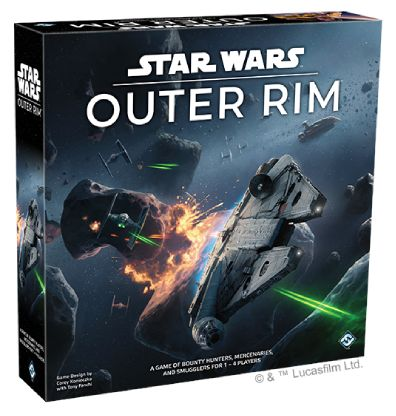 Star Wars Outer Rim Bordspel Productfoto