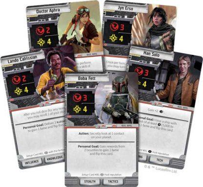 Star Wars Outer Rim Speelkaarten