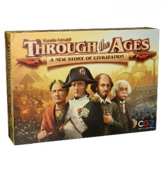 Through the ages. A New story of civilization bordspel productfoto