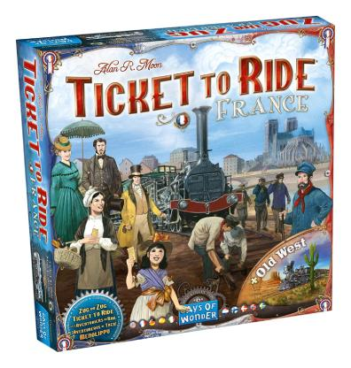Ticket to Ride France & Old West Bordspel Productfoto