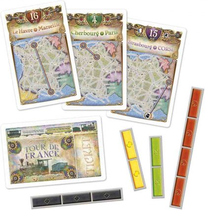 Ticket to Ride France & Old West Speelkaarten