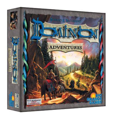 Dominion Adventures Bordspel Productfoto